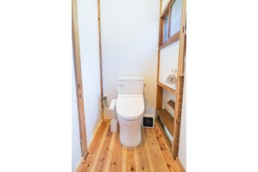Restrooms of SARUYA Artist Residency in Japan